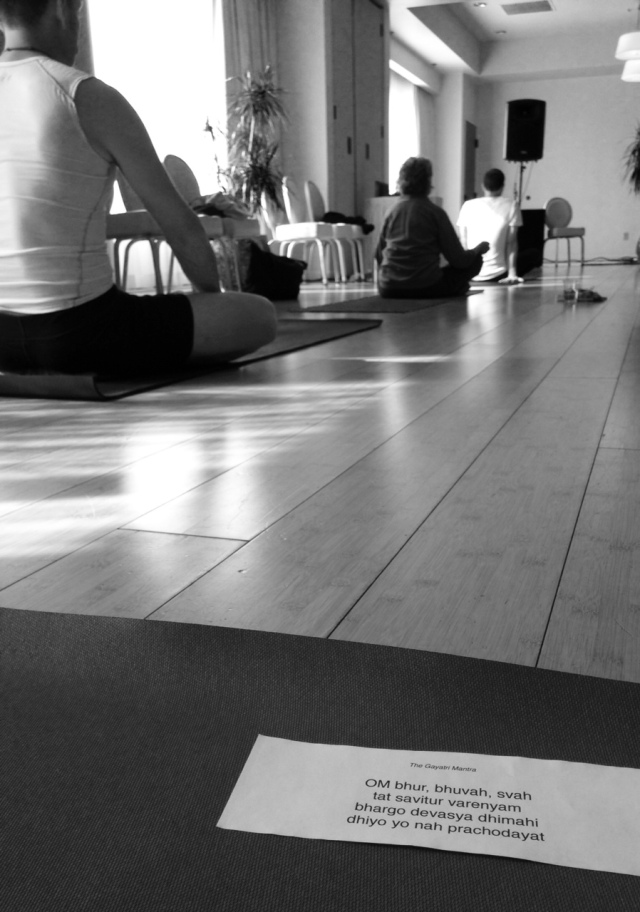 View from the mat.  Photo by Sadie Babits.
